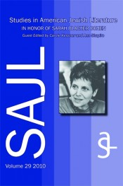 Studies in American Jewish Literature, 2010: A Special Issue in Honor of Sarah Blacher Cohen.