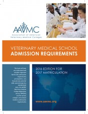 VMSAR 2016-2017: Veterinary Medical School Admission Requirements : 2016 Edition for 2017 Matriculation