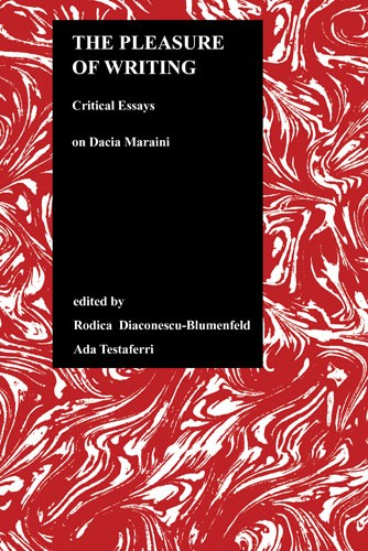 the pleasure of writing critical essays on dacia maraini Innai dltalianistica volume 19, 2001 literature, criticism, and ethics edited by  dino s cervigni ^v^  the pleasure of writing critical essays on dacia maraini.