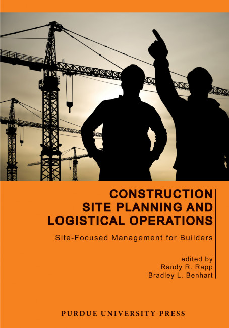 Construction site planning and logistical operations site focused